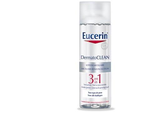 eucerin dermatoclean lotion micellaire 3 en 1 nettoyant visage. Black Bedroom Furniture Sets. Home Design Ideas